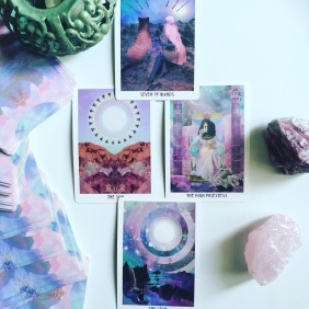 Unintentional Review: Starchild Tarot Akashic Edition